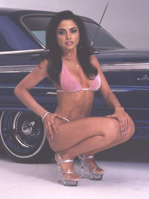 Lowrider Model Ligia May 2004 Lowrider Magazine