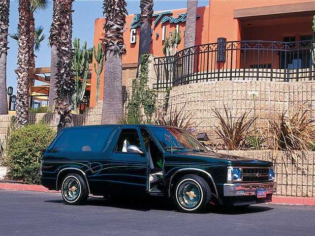 1986 Chevrolet Blazer Lowrider Magazine - Green With Envy