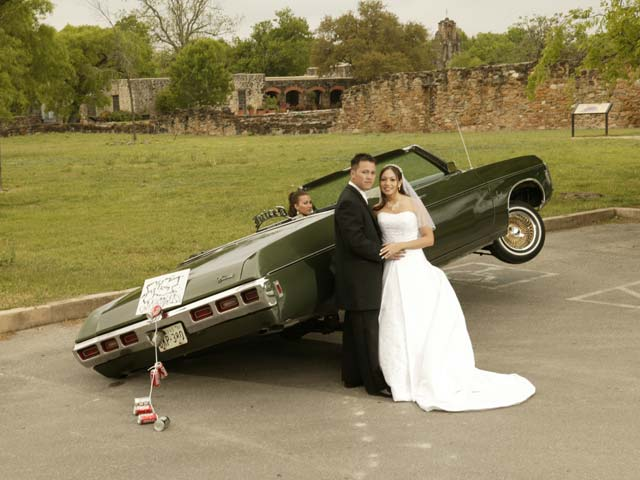 Lowrider Wedding On 1969 Impala Covertible Lowrider Magazine