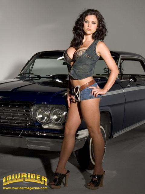 Lowrider Model Melanie Lowrider Magazine