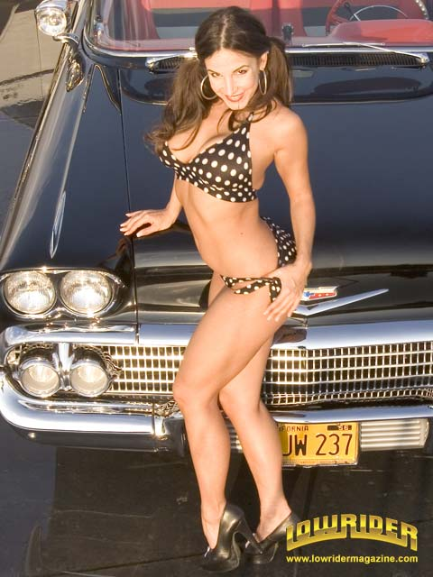 Brown And Brown Chevrolet >> Lowrider Model - Mayra Veronica - Mar 2006 - Lowrider Magazine
