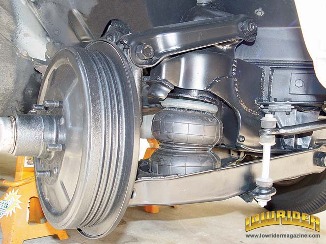 Affordable Air Bag Suspension Installation Tech Lowrider Magazine