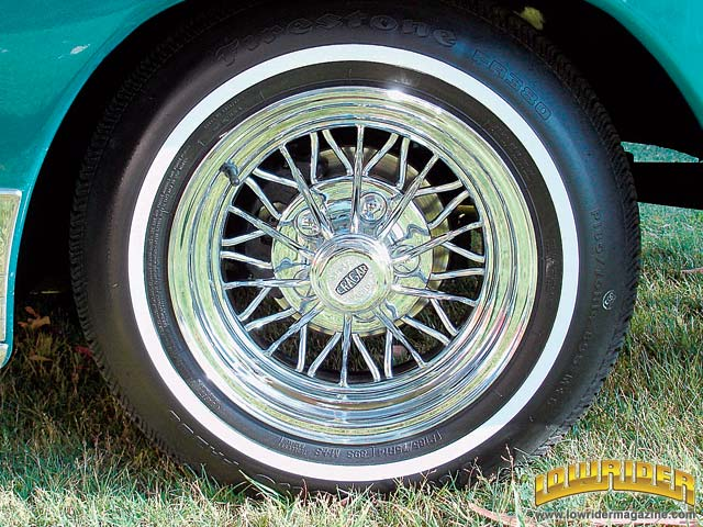 History of the Wheel - Custom Lowrider Wheels and Hubcaps - Lowrider ...