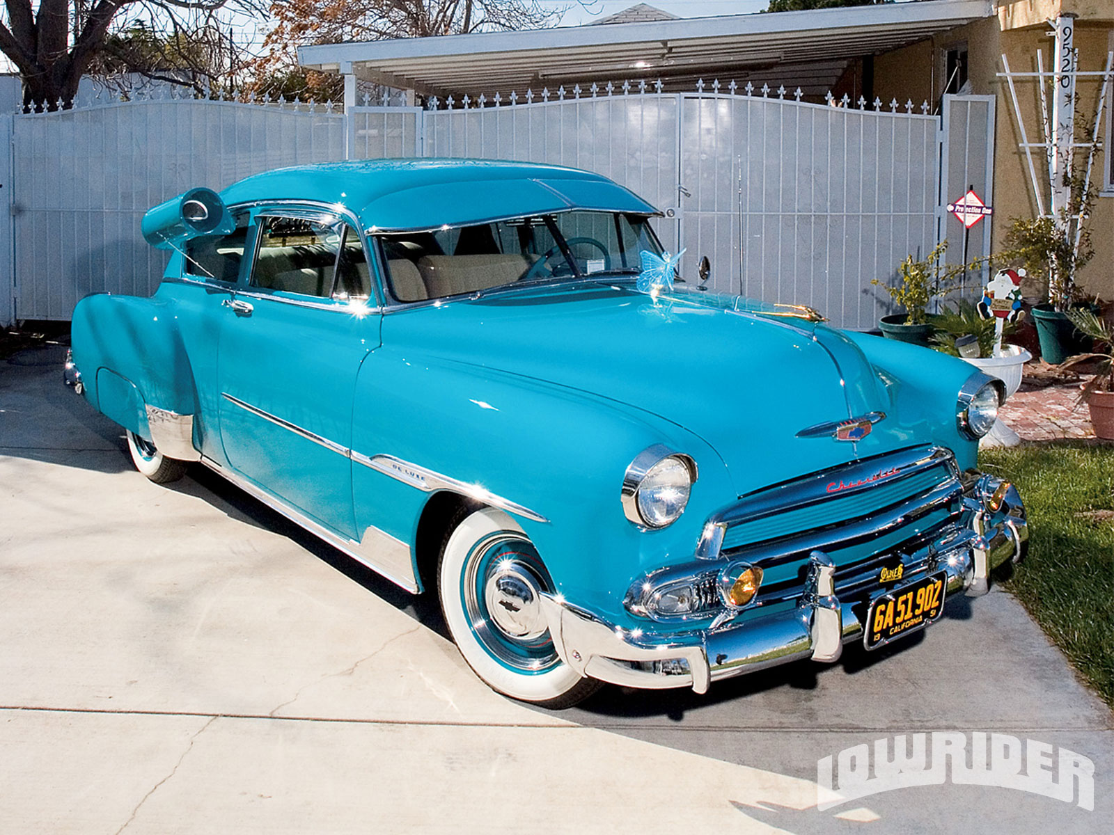 Custom 1951 Chevrolet Deluxe Lowrider Magazine Cadillac Paint Colors 1 7