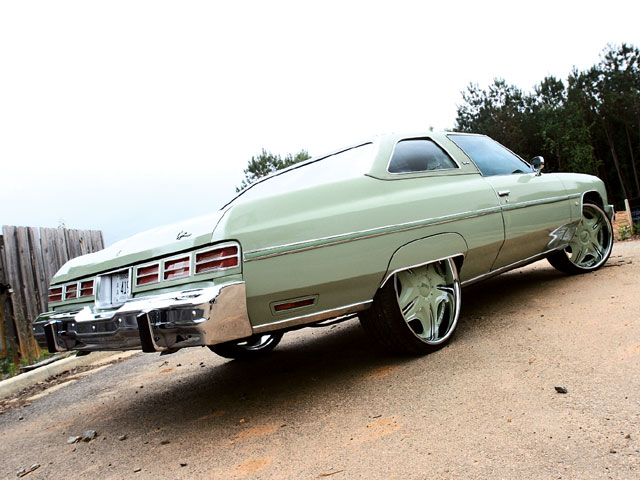 1975 Chevrolet Caprice Triple Green Donk - Lowrider Magazine