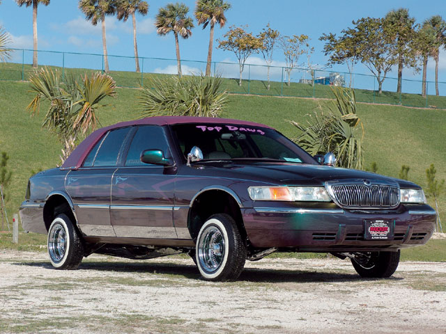 1998 Chevy Grand Marquis Top Dawg Lowrider Magazine