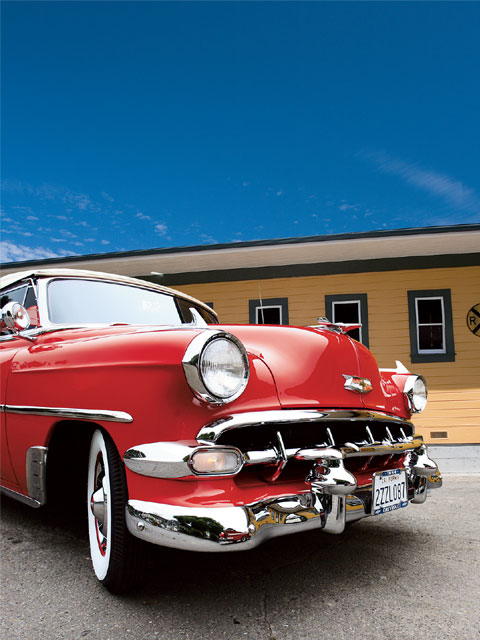 1954 Chevy Bel Air Lowrider Magazine