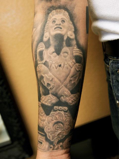 Lrap Z Goethe Tattoos Prehispanic Tribal Tattoo