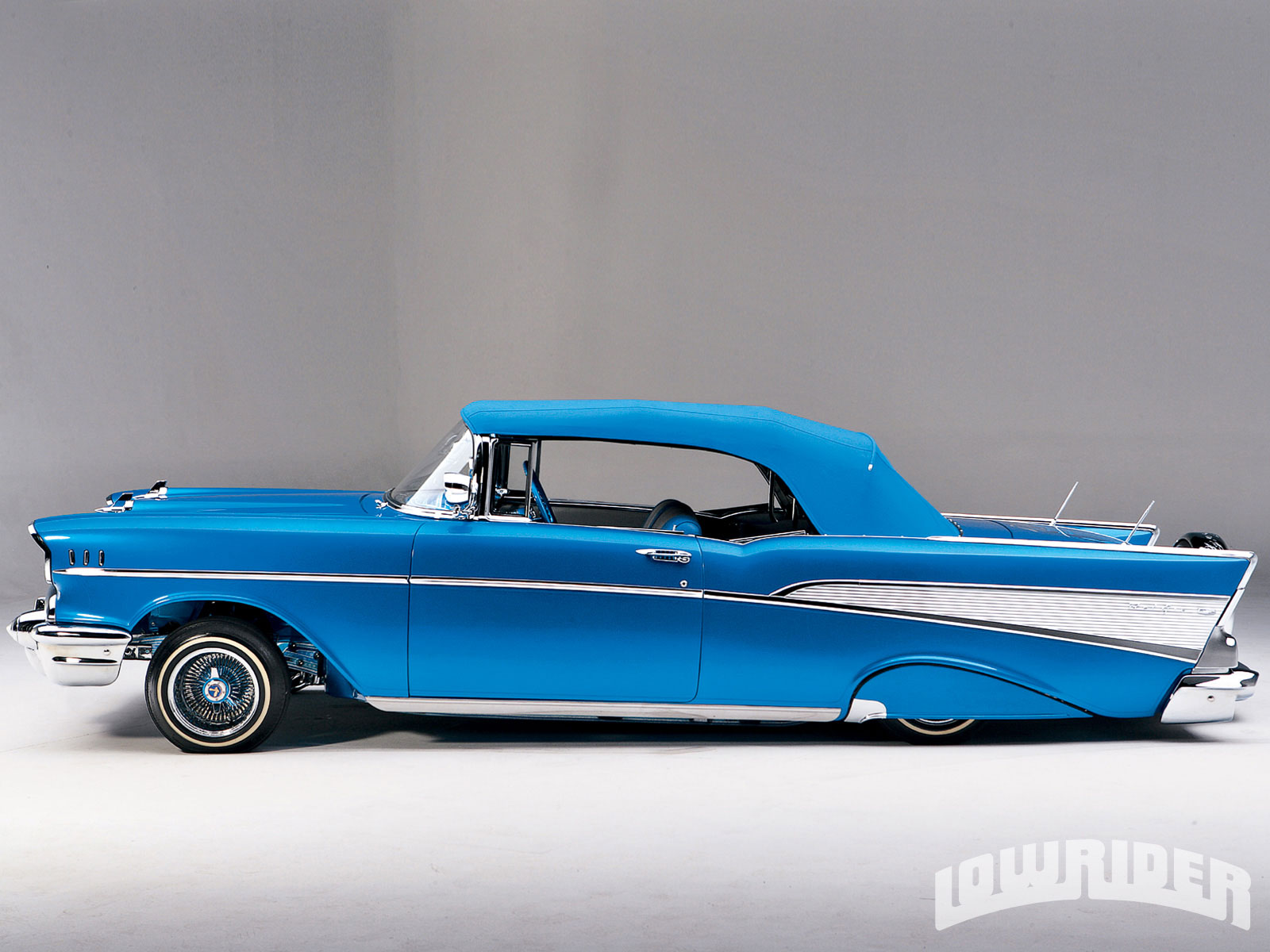 1957 Chevrolet Bel Air Convertible Street And