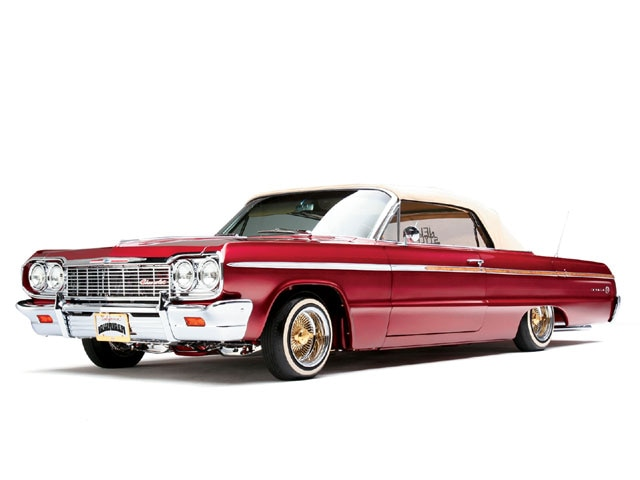 1964 chevrolet impala ss convertible cherry 64 features lowrider magazine. Black Bedroom Furniture Sets. Home Design Ideas