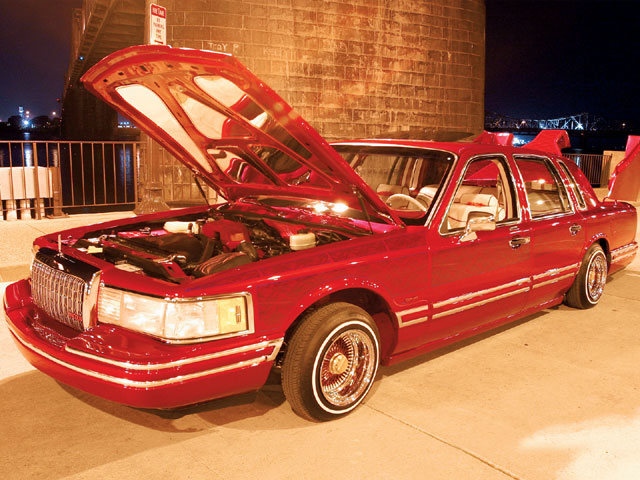 Custom 1994 Lincoln Town Car Lowrider Cool Lowrider Cars