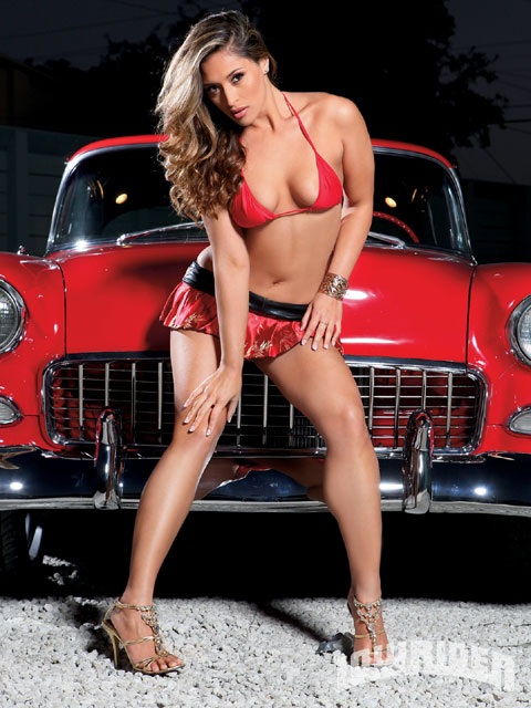 Melanie - Lowrider Girls Model - Lowrider Magazine