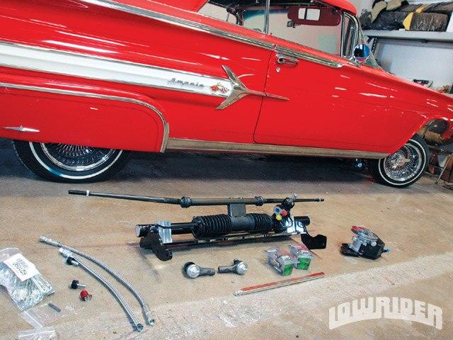 1960 Chevy Impala - Rack -And- Pinion Steering - Lowrider Magazine
