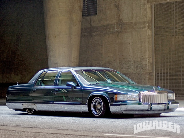 Lrmp Z Cadillac Fleetwood Side View