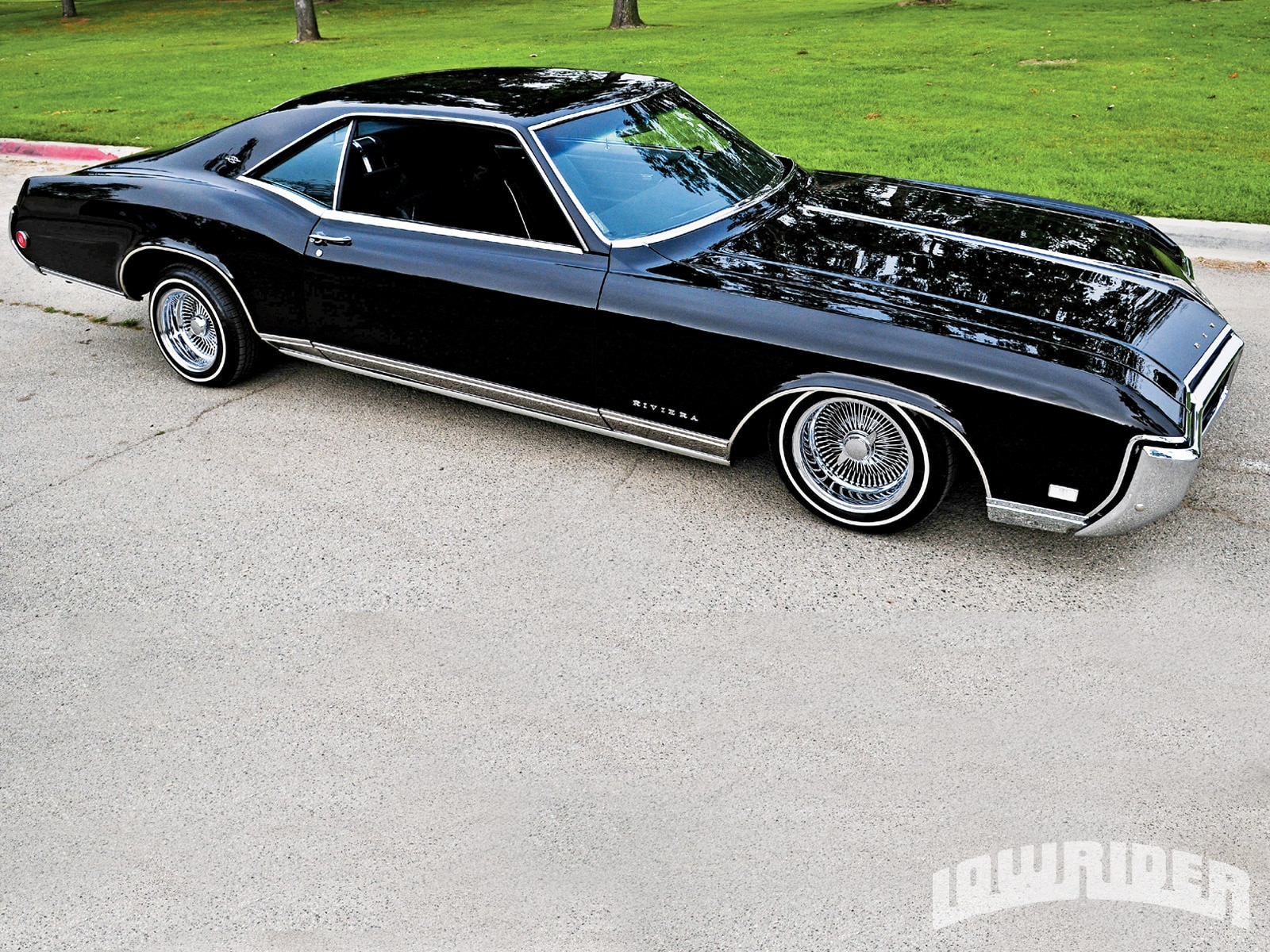 1968 buick riviera 430ci engine lowrider magazine. Black Bedroom Furniture Sets. Home Design Ideas