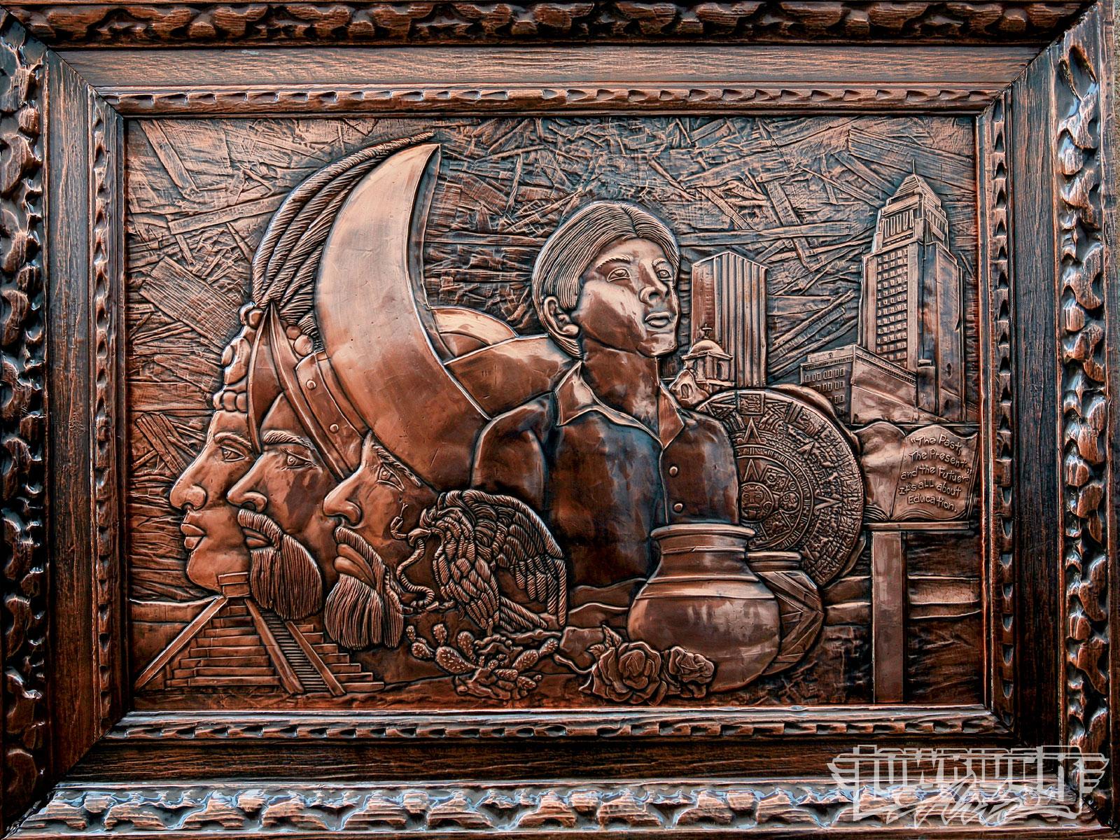 Victor Bono - Master Coppersmith - Lowrider Arte Magazine