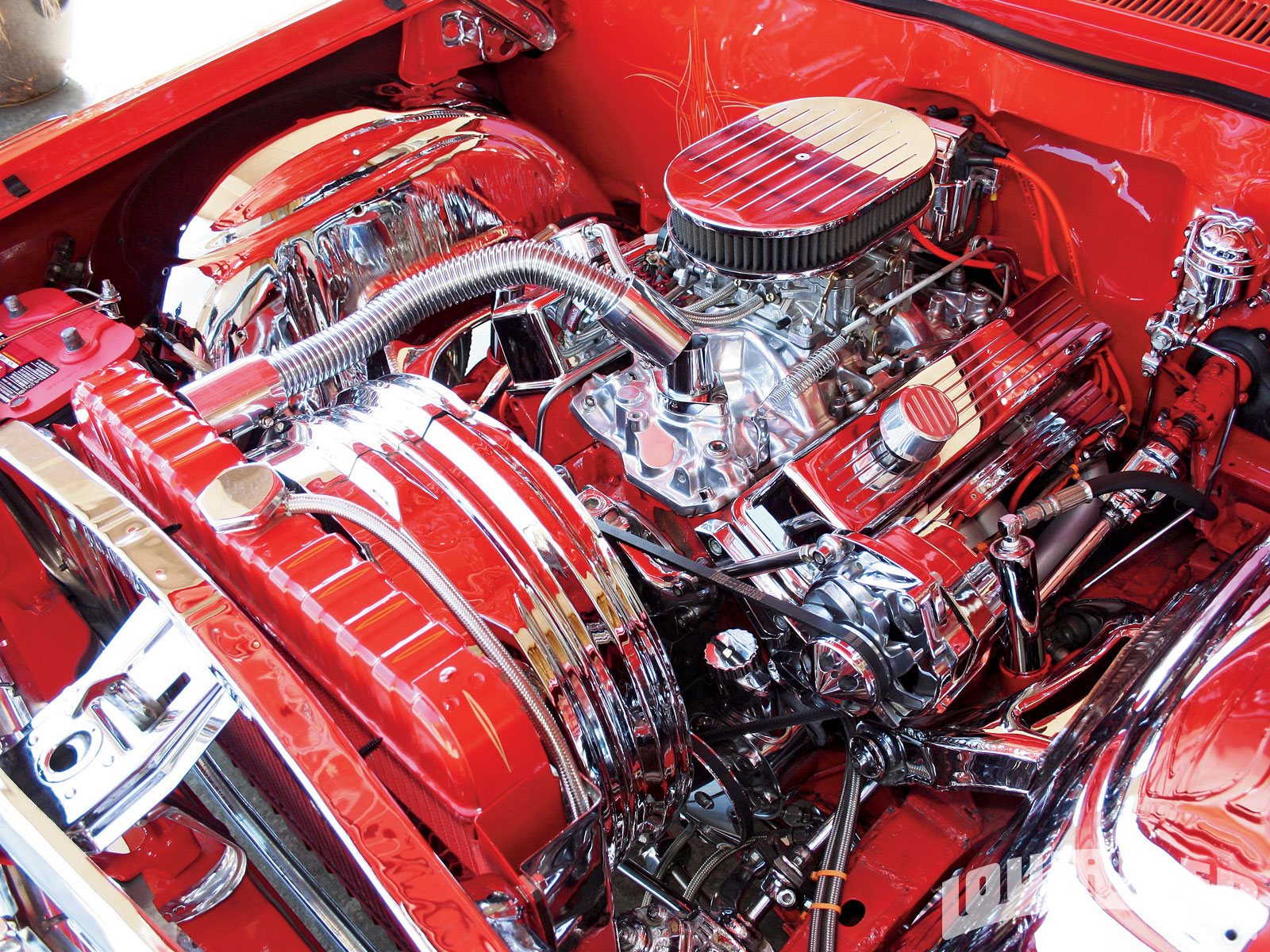 1962 Chevrolet Impala Ss Gm 327 C I D V8 Engine