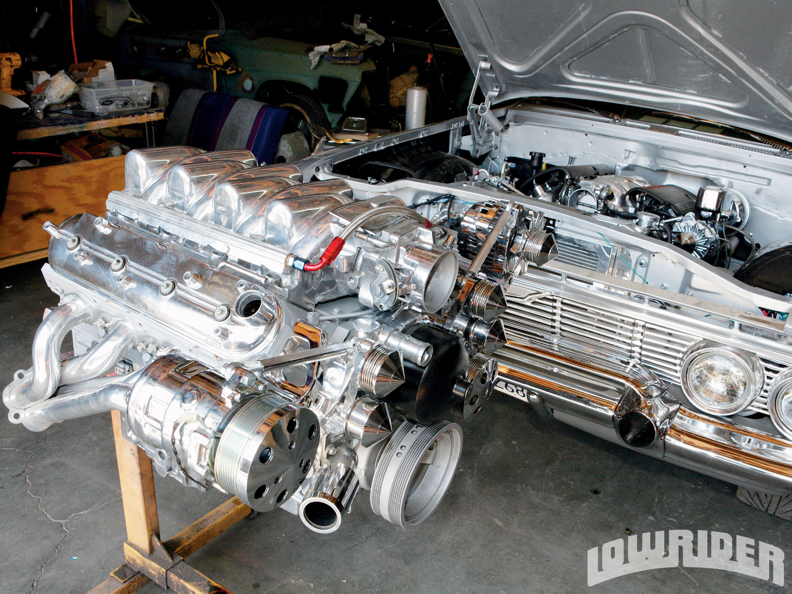 General Motors Ls Series Engine Build Ultimate Hydraulics 5 3 Vortec Crate With Wiring Harness Free 31