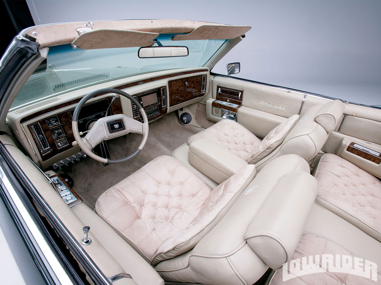 1982 Cadillac Coupe Deville Le Cabriolet 1992 Gm 350 5 7 Liter Engine Lowrider Magazine