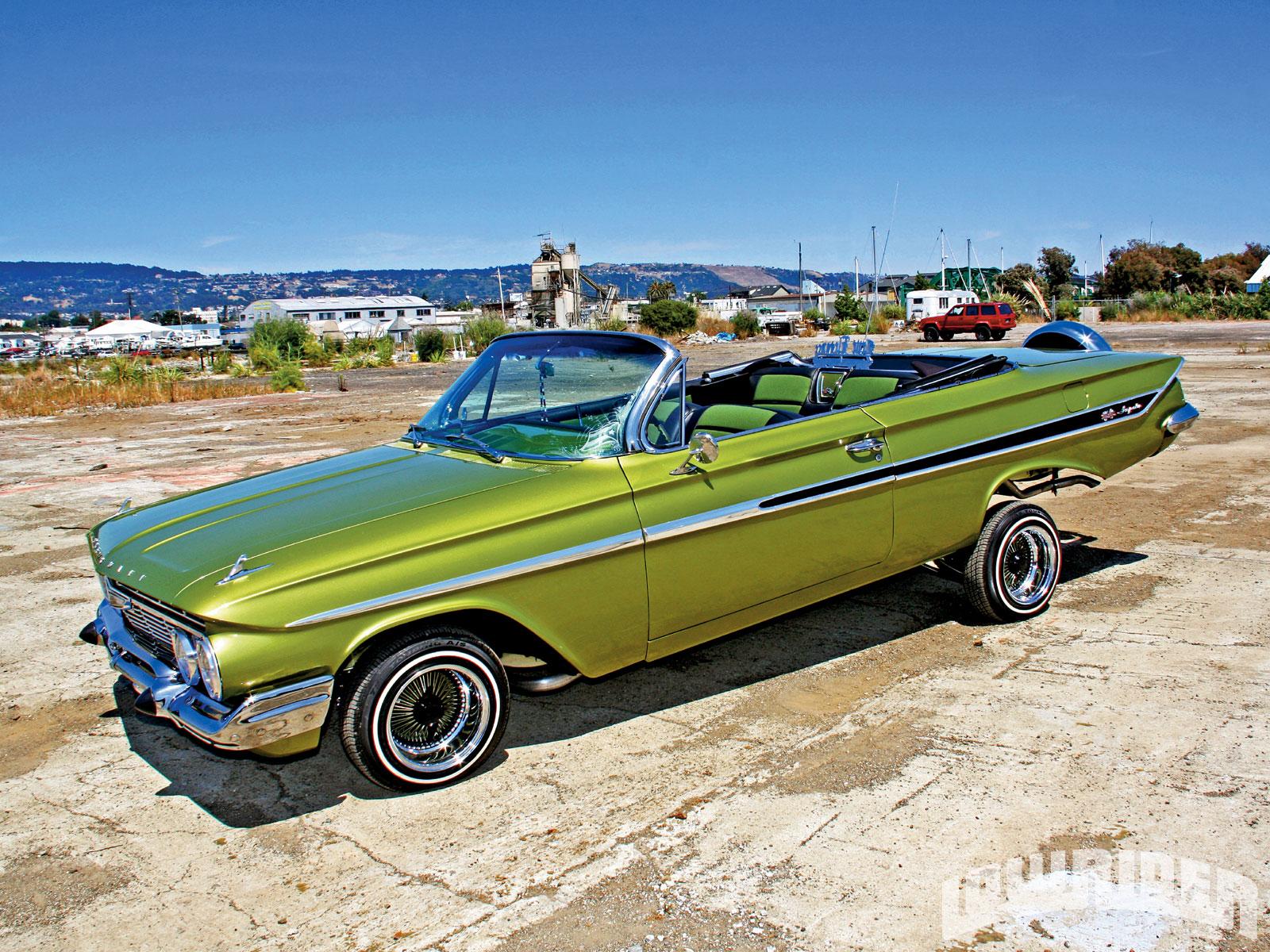 1961 Chevrolet Impala Convertible 1997 Chevrolet 350 5 7