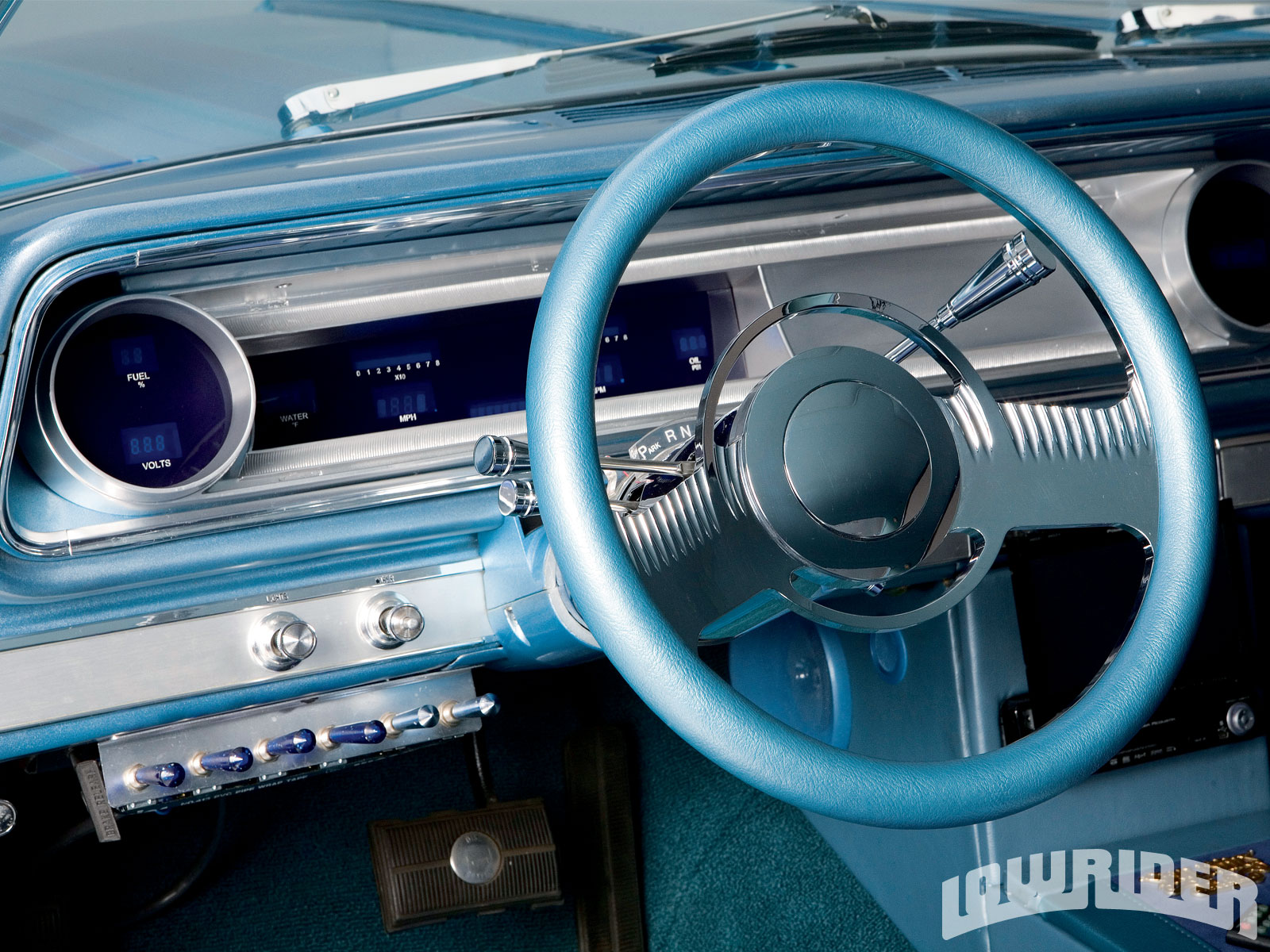 1965 Chevrolet Impala - 1985 Chevy 350 Engine - Lowrider ...