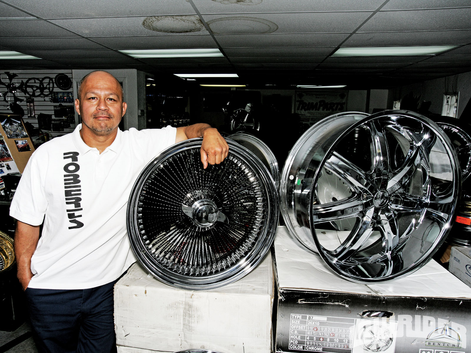 Robert Morales of Robert\'s Tires and Wheels - Chevrolet Glass House ...