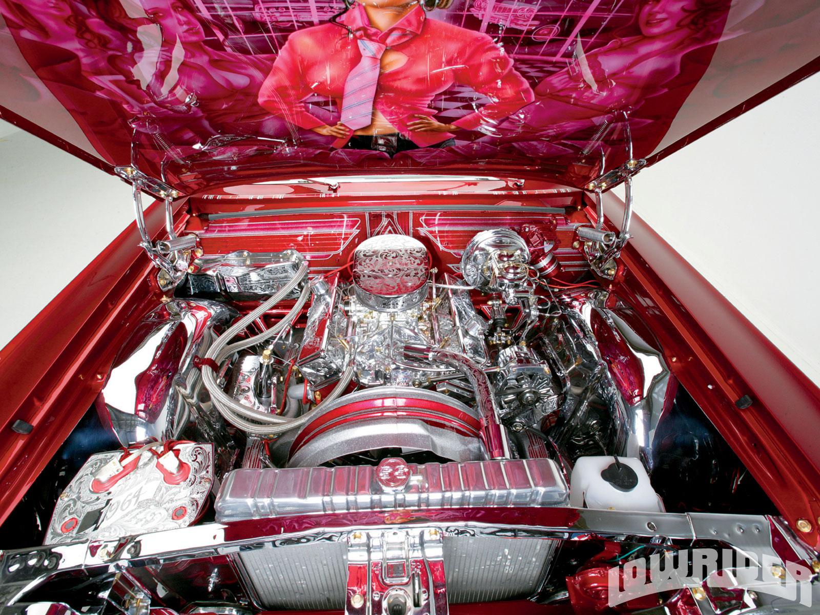 1964 Chevrolet Impala - 2000 Chevy 350 Engine - Lowrider Magazine
