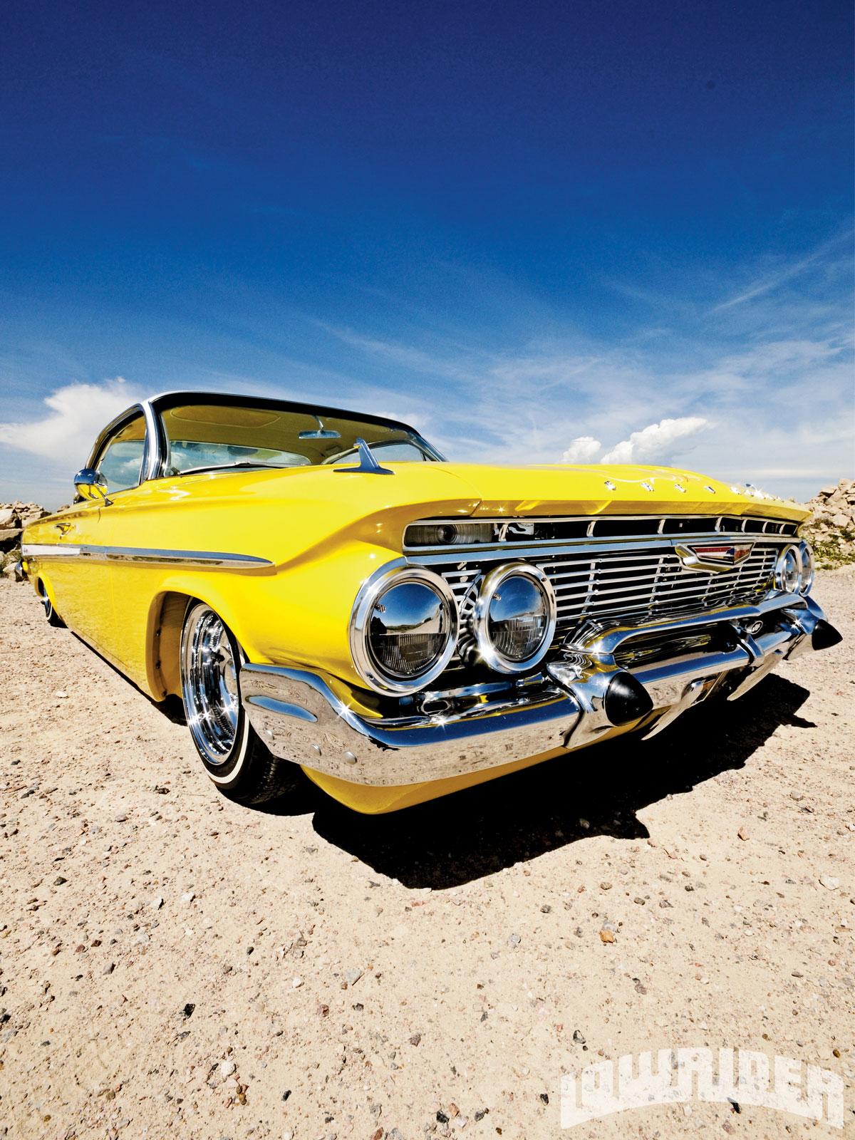 Chevrolet El Paso >> 1961 Chevrolet Impala - Rebuilt V8 283 Engine - Lowrider ...