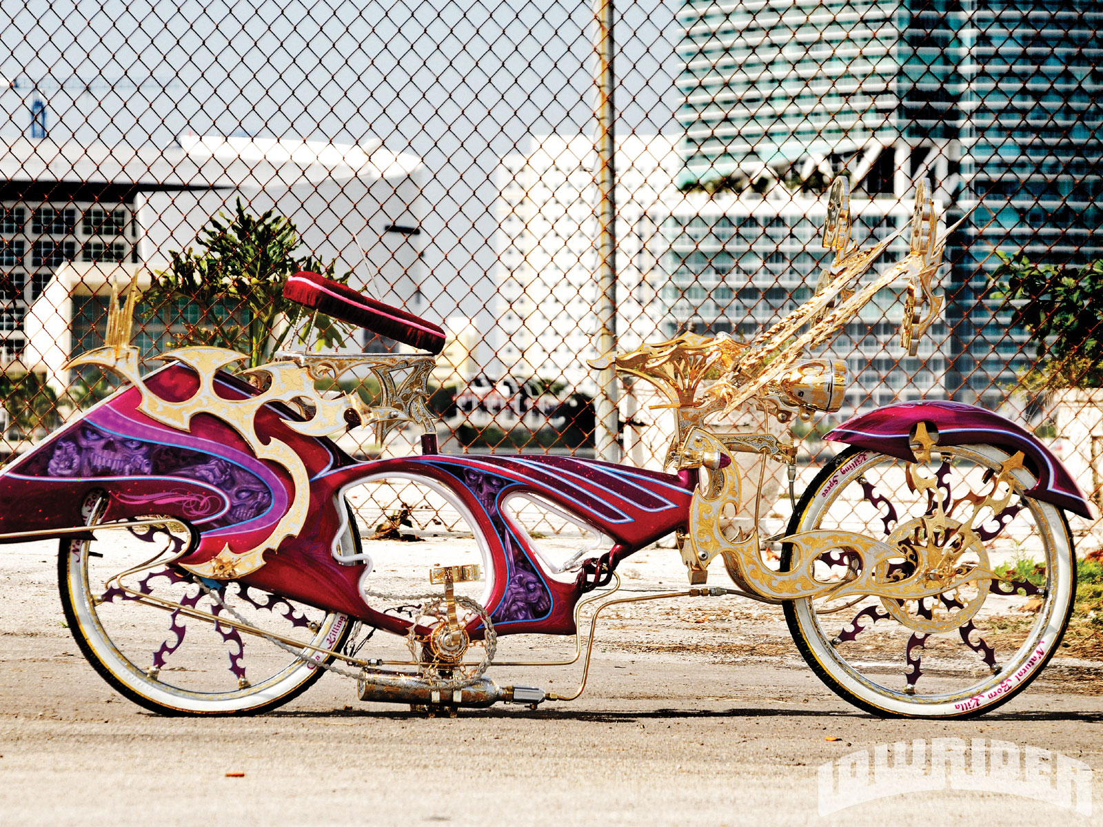 Lowrider Miami >> Natural Born Killa Custom Lowrider Bike - Lowrider Magazine