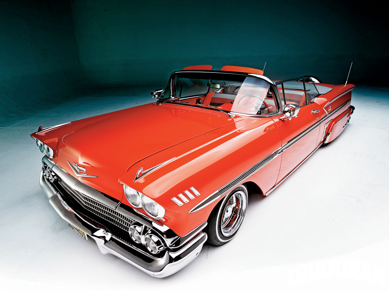 1958 Chevrolet Impala Convertible - Chevy 348 Tri Power ...
