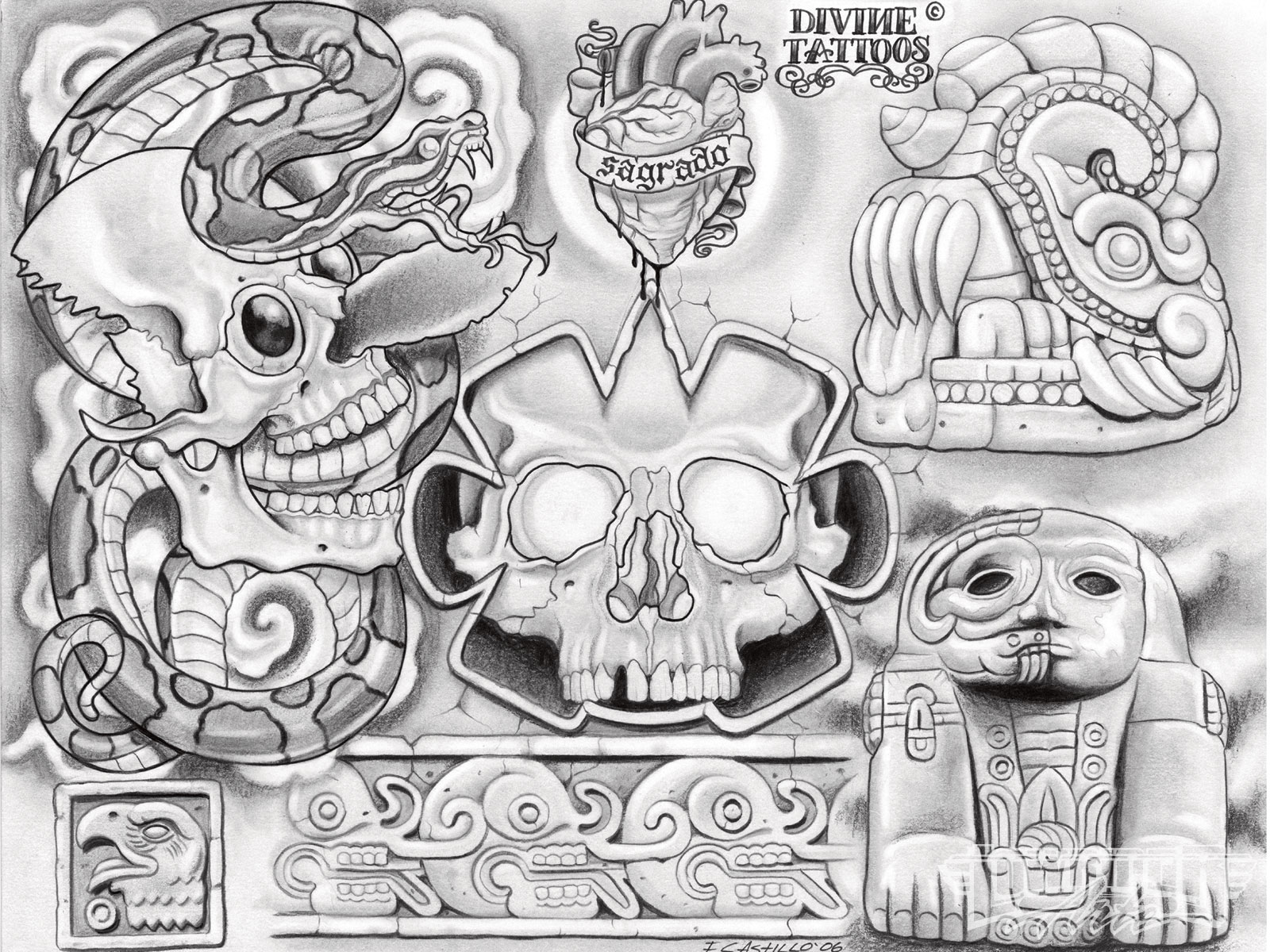 Tattoo Artist Enrique Castillo - Lowrider Arte Magazine