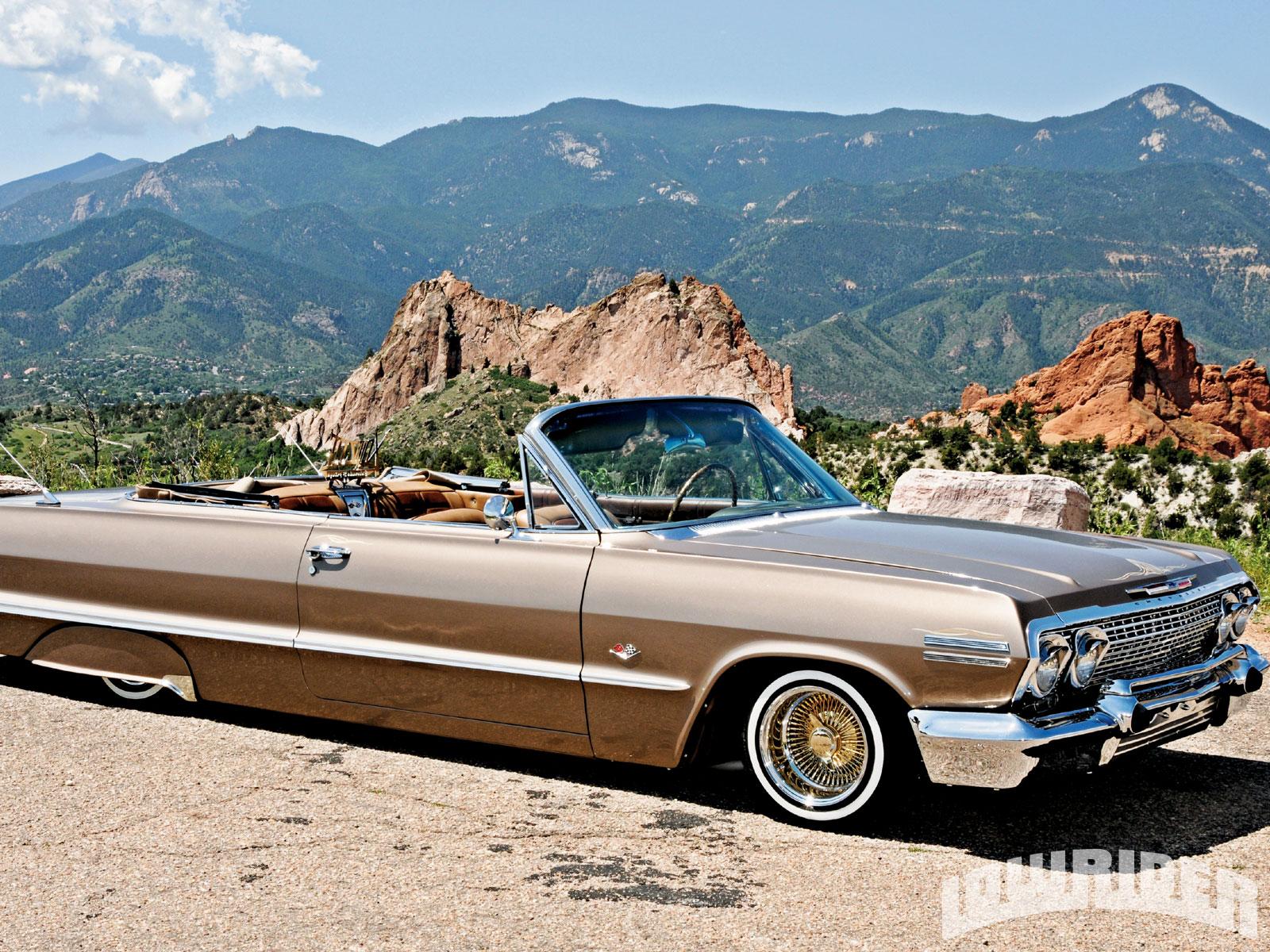 1963 Chevrolet Impala Convertible Lowrider Magazine