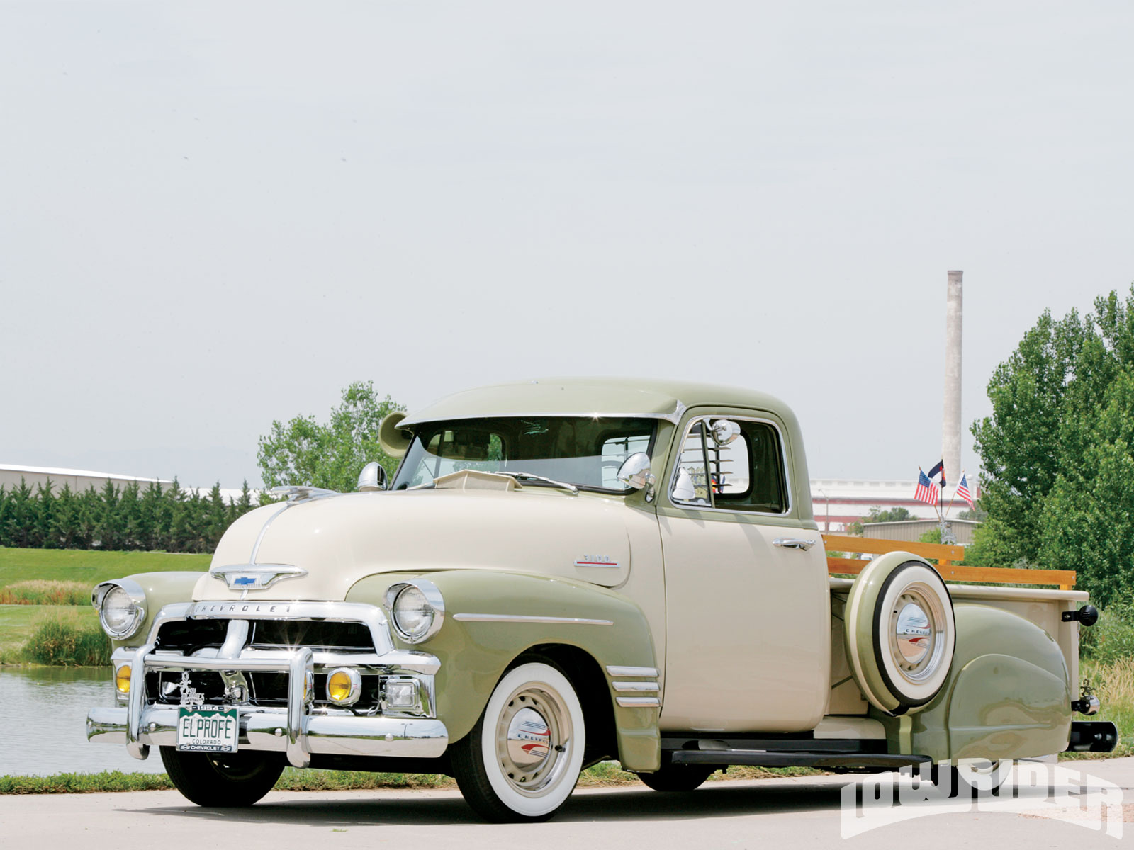 1954 Chevrolet 3100 Series Truck Lowrider Magazine