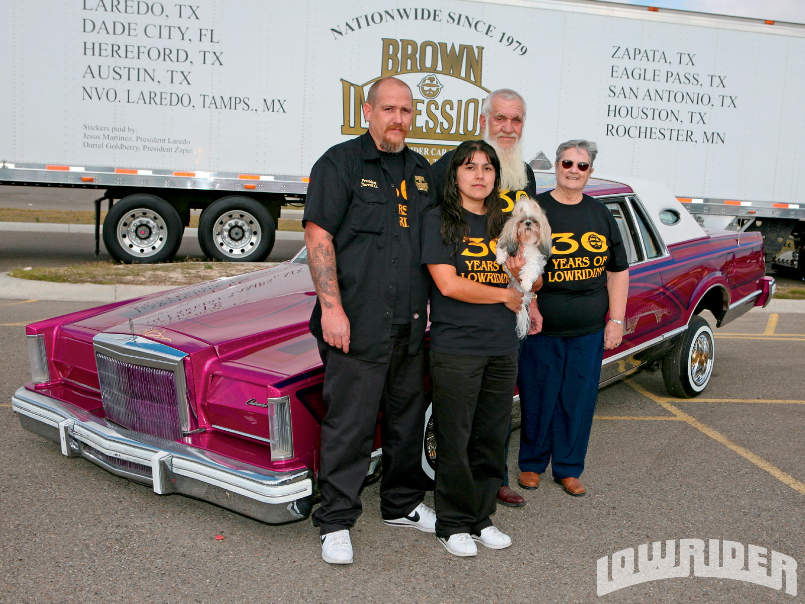 Brown Impressions Car Club Lowrider Magazine
