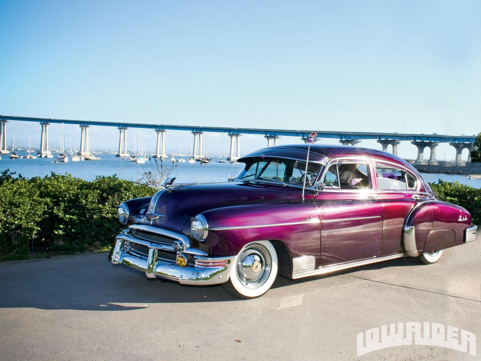 1950 Chevrolet Deluxe Lowrider Magazine