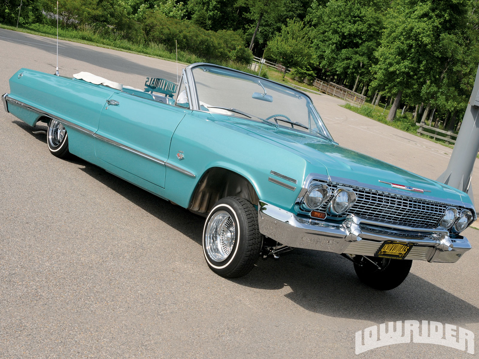 Pin 1957 Chevy Bel Air Convertible Images To Pinterest Lowrider