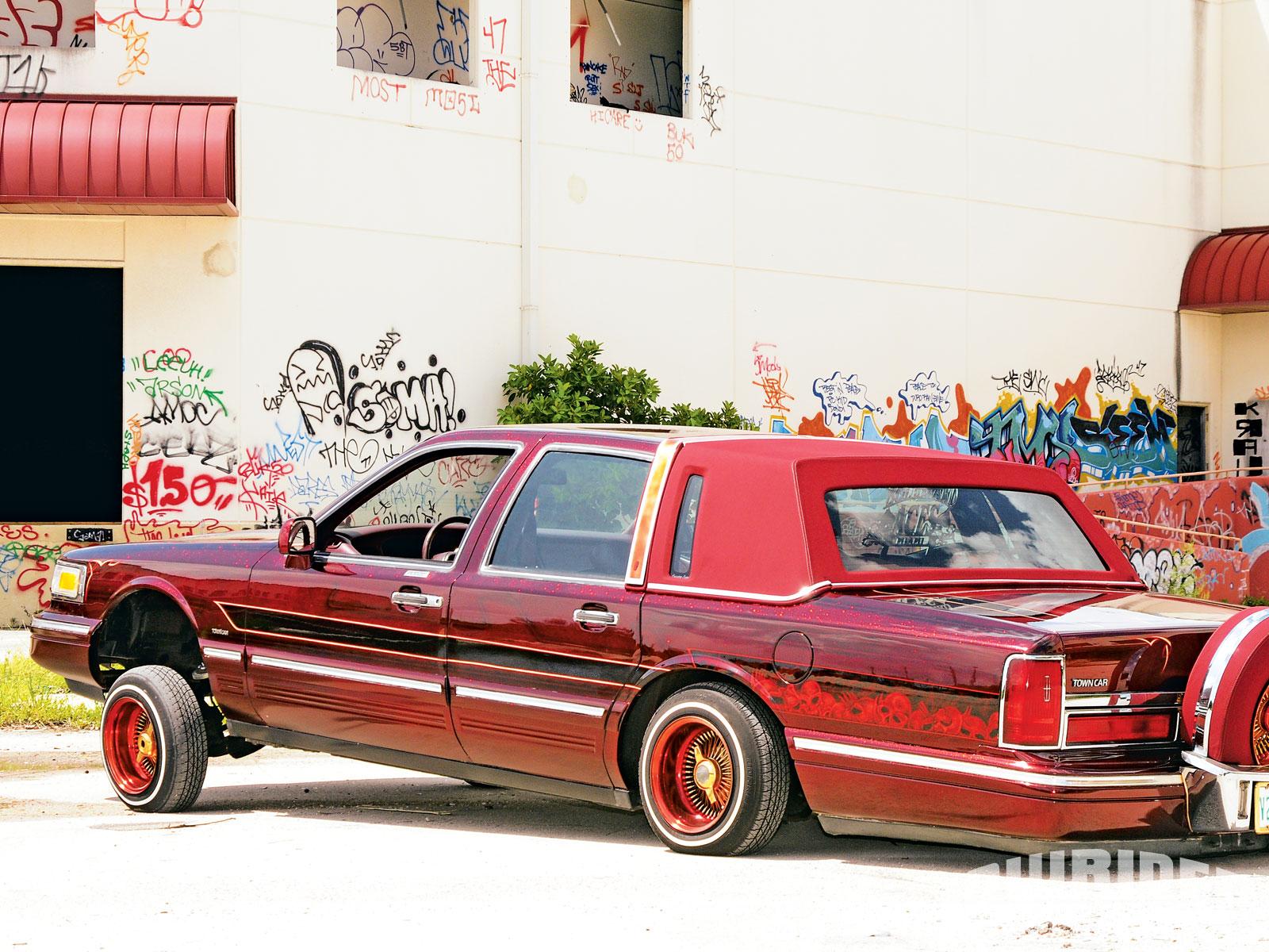 1996 Lincoln Town Car Lowrider Magazine