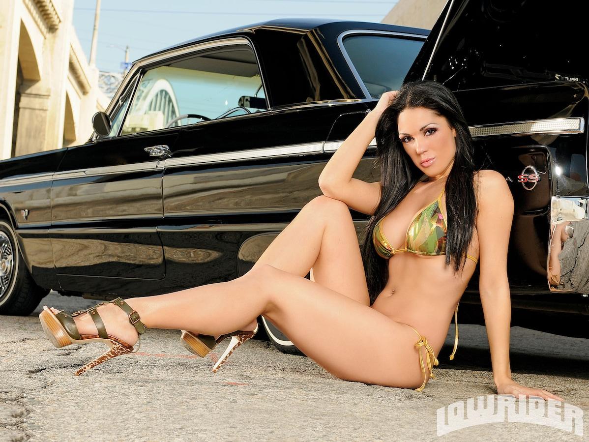 Carissa Lowrider Girls Model Lowrider Magazine