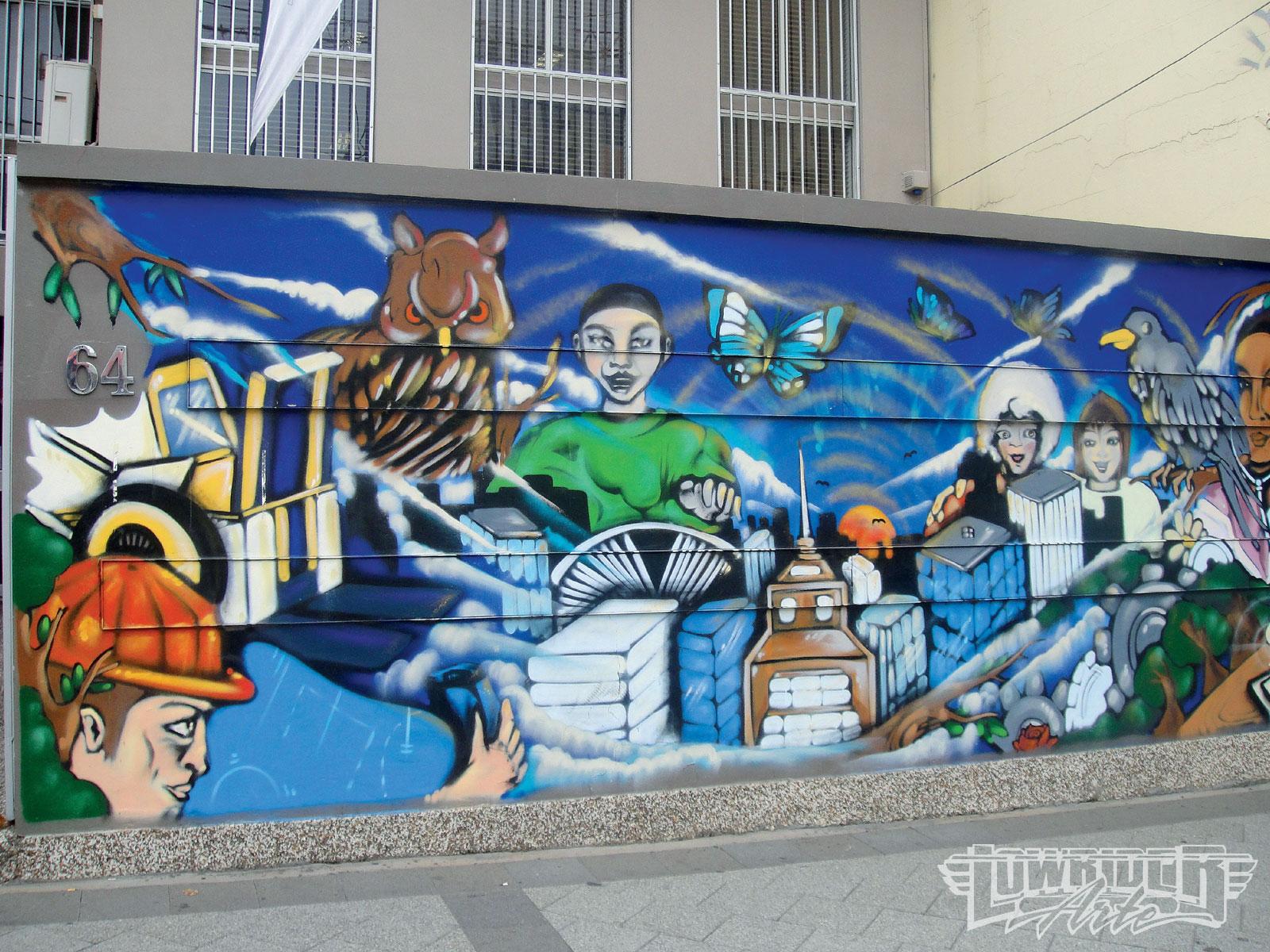 Tri City Auto >> Newtown Graffiti Art - Lowrider Arte Magazine