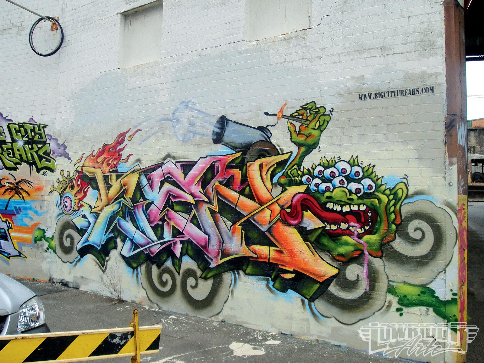 Chevy Las Vegas >> Newtown Graffiti Art - Lowrider Arte Magazine