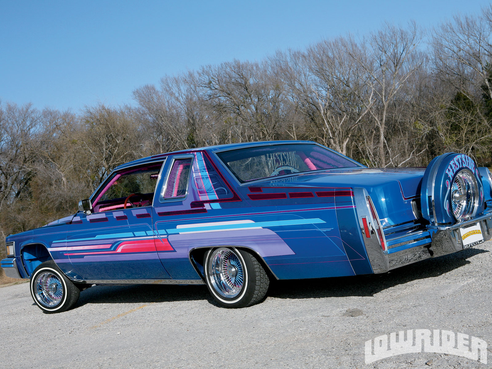 Lrmp O Cadillac Coupe De Ville Rear