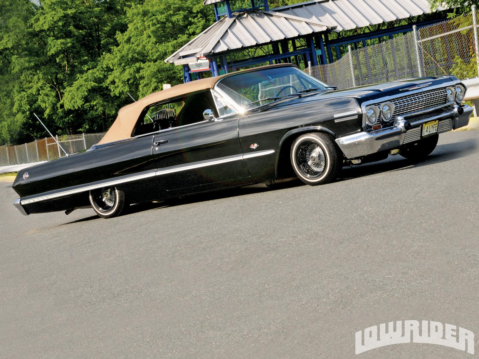 1963 chevrolet impala ss convertible lowrider magazine