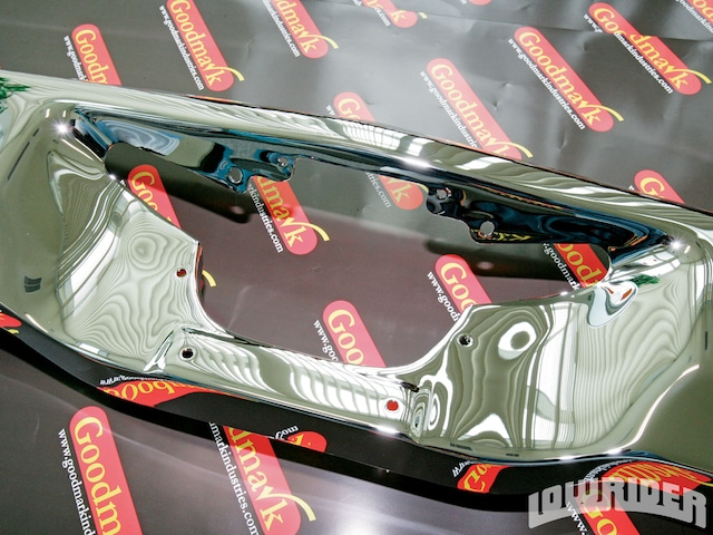 Goodmark Bumper Re-Chroming Service - Tech Project - Lowrider Magazine