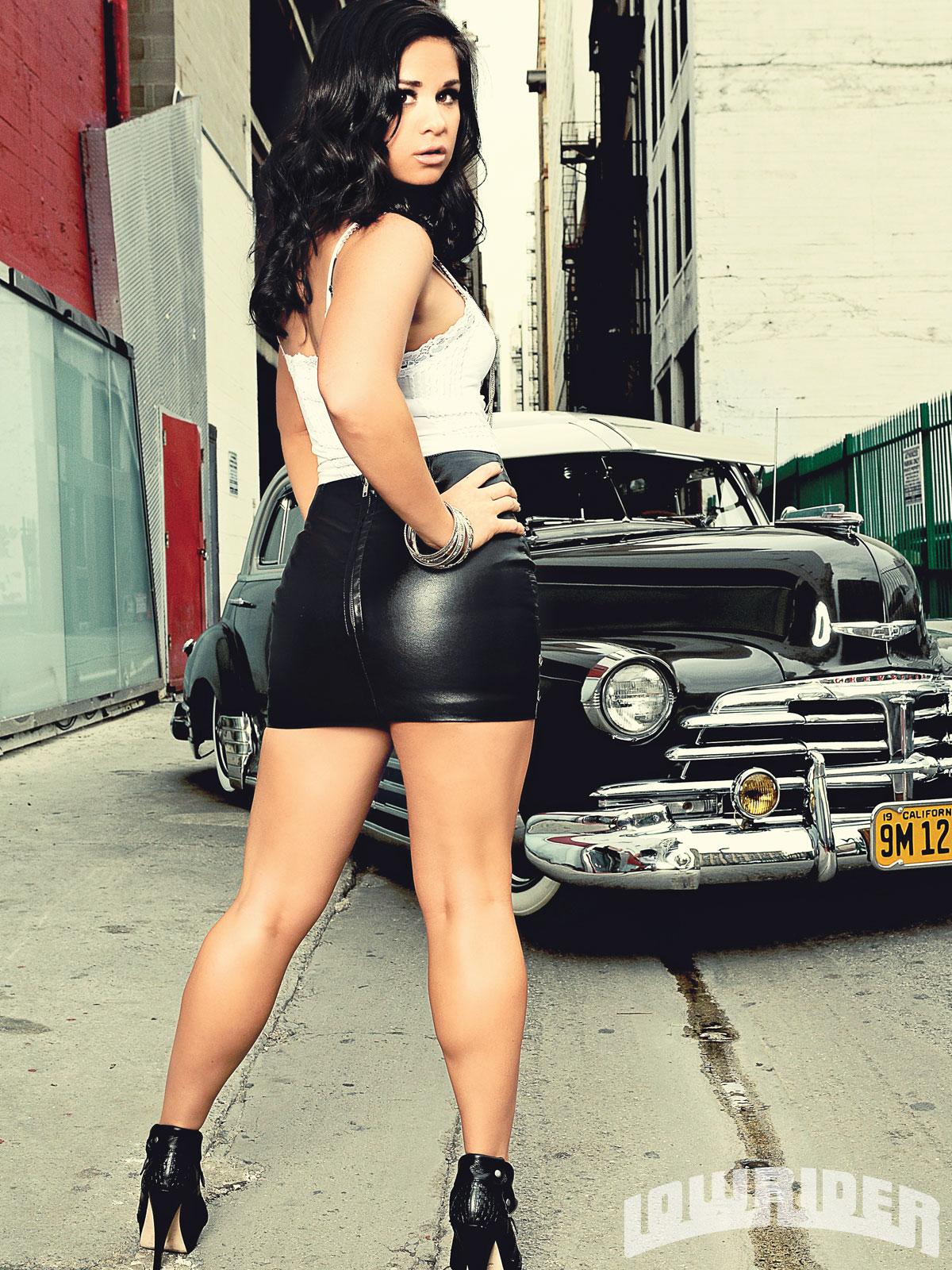 Beth Ella Lowrider Girls Model Lowrider Girls Magazine