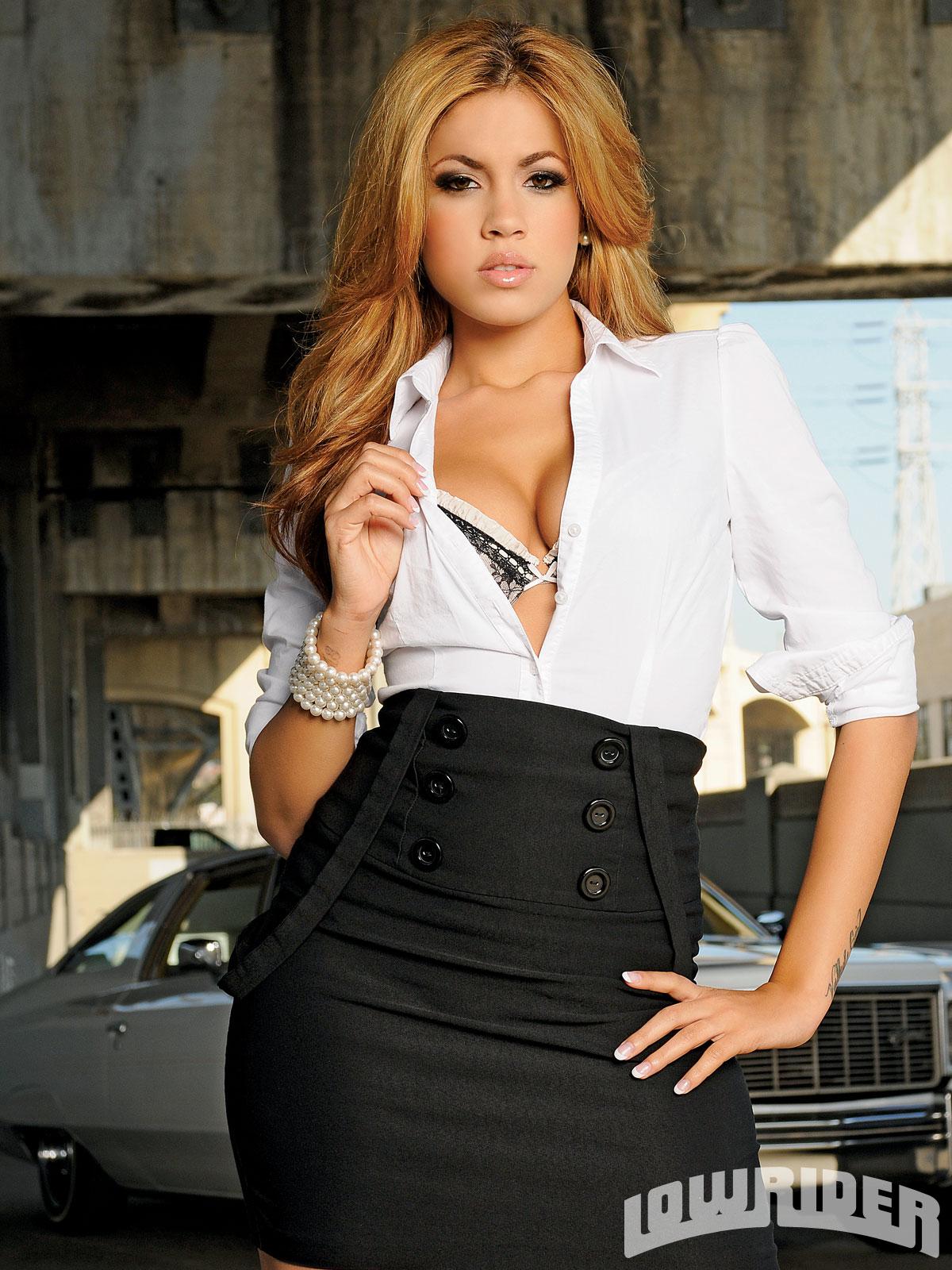 Isis Taylor Lowrider Girls Model Lowrider Girls Magazine