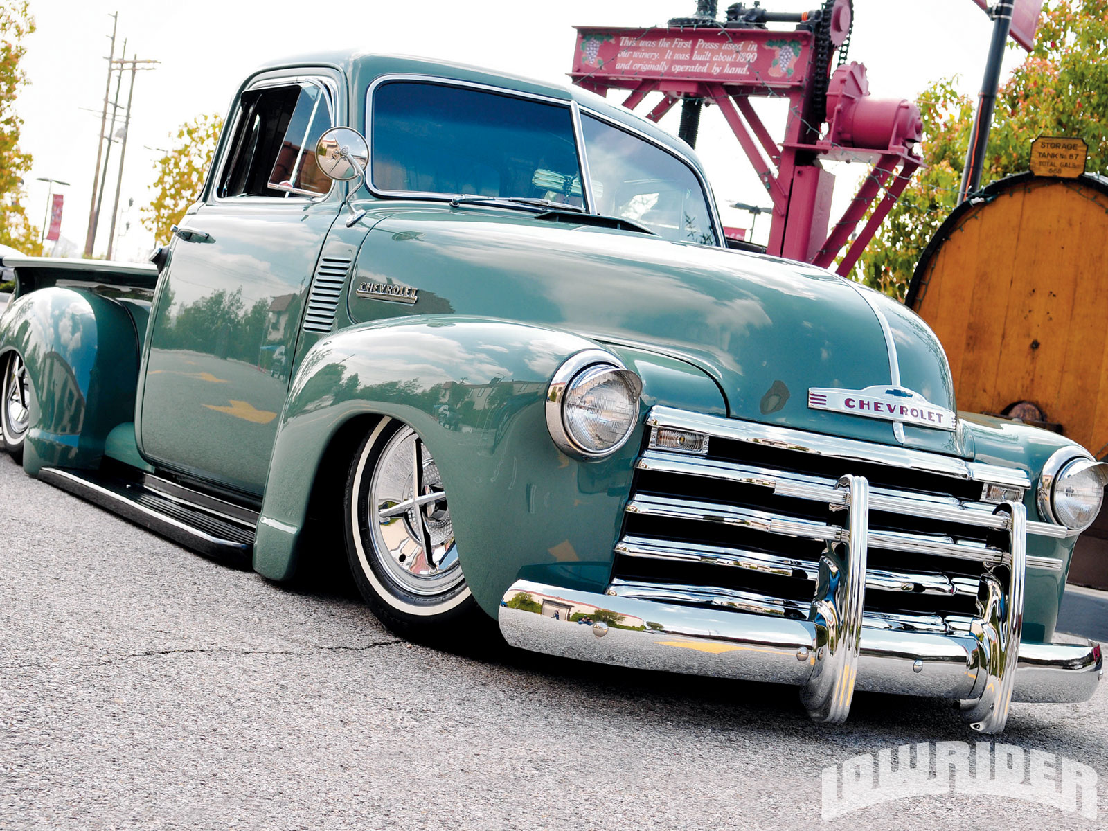 Lowrider Rims And Tires >> 1952 Chevrolet Truck - Lowrider Magazine