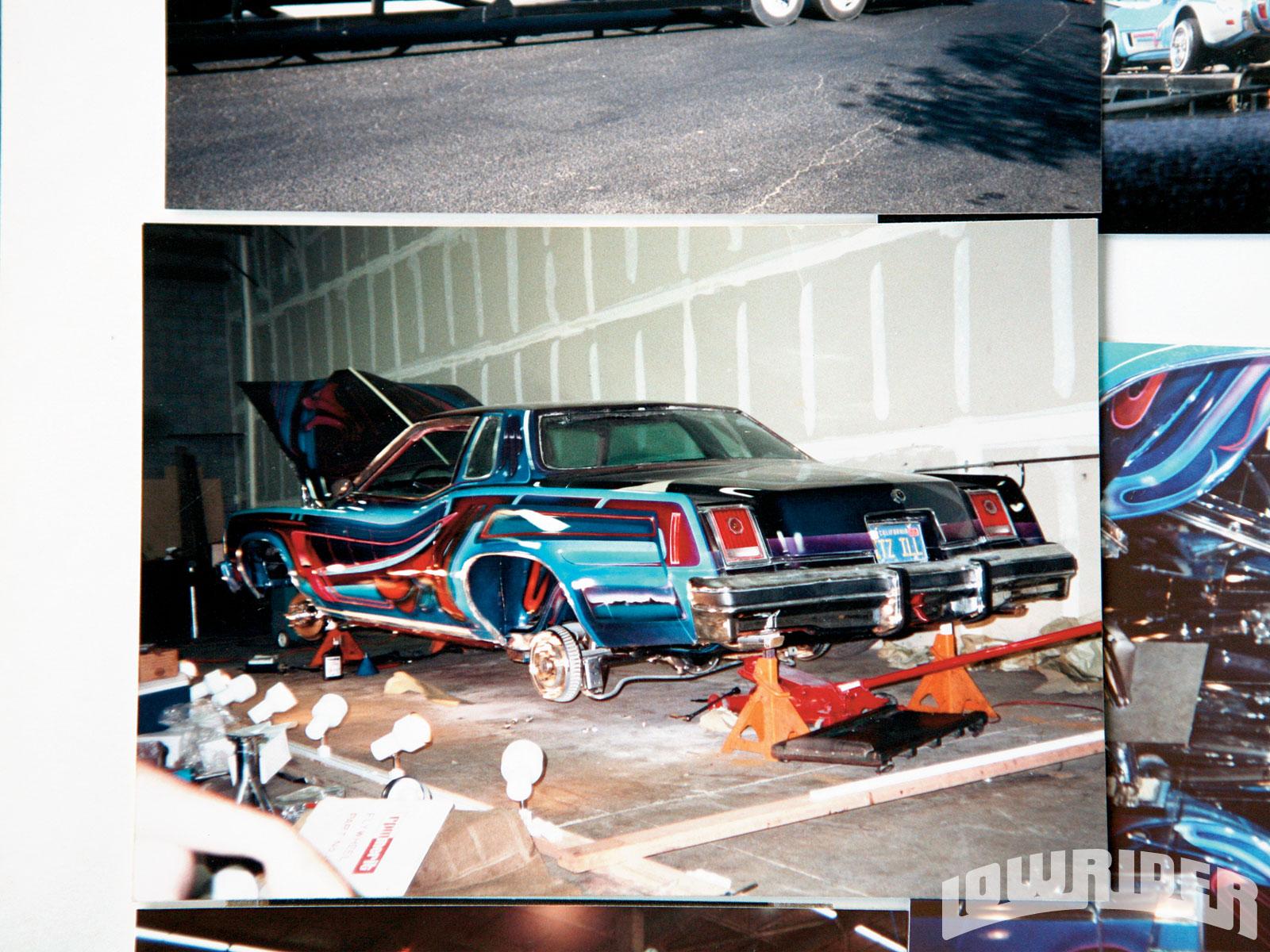 1977 Pontiac Grand Prix Lowrider 2010 Hall Of Fame