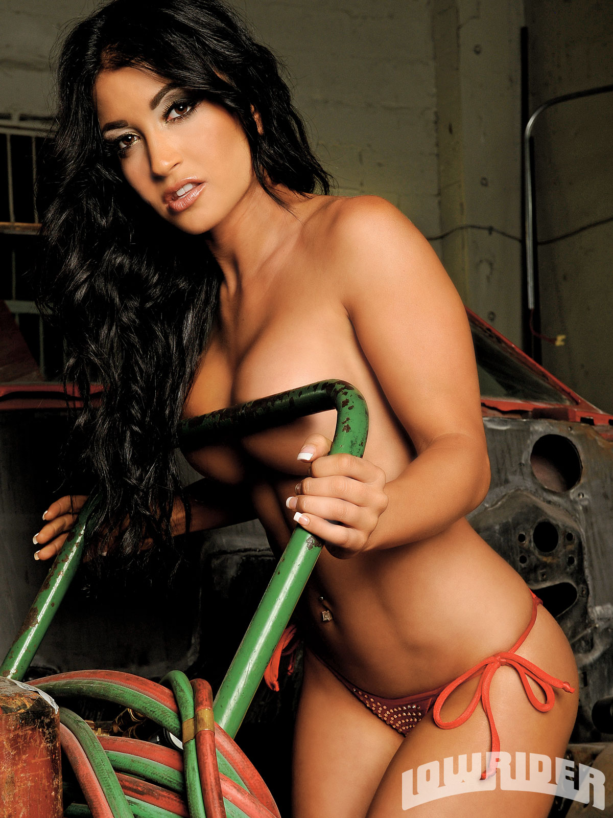 nude lowrider hot model