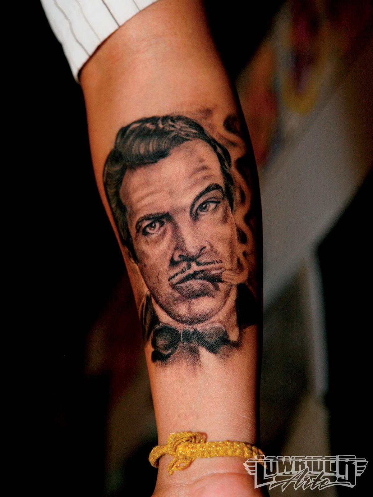 smoke tattoo filler