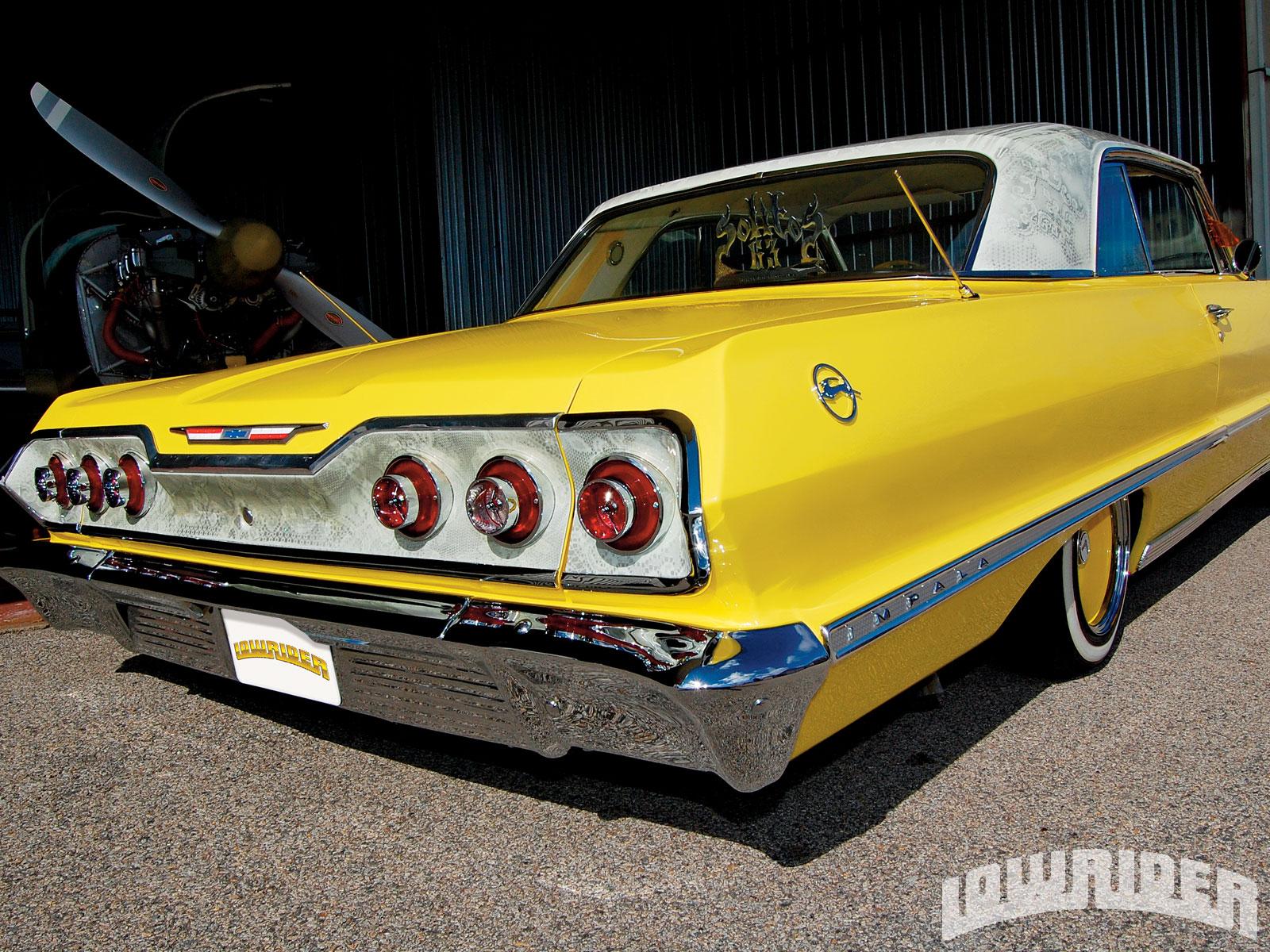 1963 chevrolet impala coupe lowrider magazine